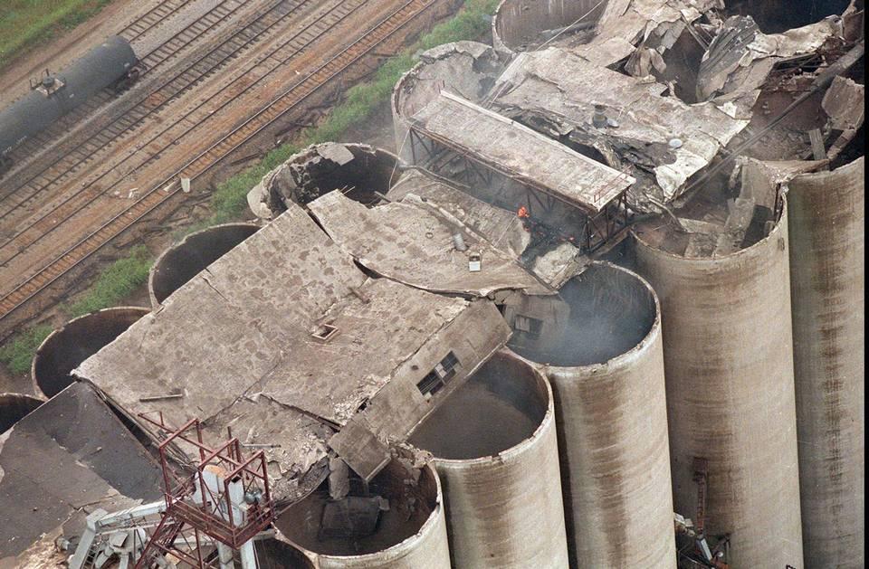Grain Elevator Explosion
